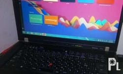 Lenovo thinkpad r61e window 7.. Quick specs: Ram 2gb