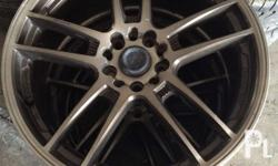 Lenso magwheels 18inches can fit civic corolla mazda or