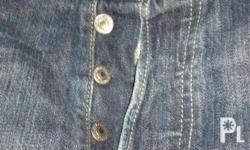 For sale Levi's 501 original jeans made in turkey,Size