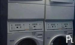 Ltee5asp543nw23 - 10.5kg washer dryer stacked used
