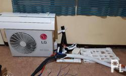 LG Split Type Aircon 2hp DUAL INVERTER.. 2nd hand,