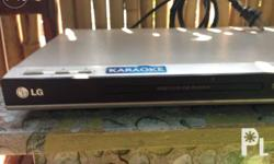 Lg dvd player, made in indonesia,with mic input,100% in