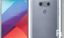 Lg g6 platinum color 64g, dual camera front and back