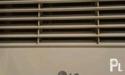 LG window type aircon with remote control