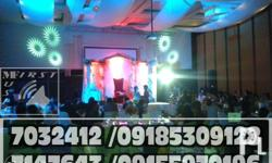 Lighting effects rent Party Sound system lights rental