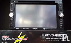 New Release Lightning Lab LL2DVD-619DTV 2-Din