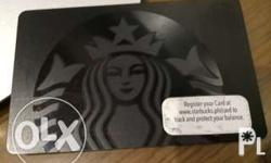 Hard to find Starbucks Black Siren card. No load, but