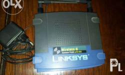 Linksys Access Point G. Available until posted. Meet up