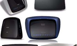 ROUTERS: 1. Cisco-Linksys WRT320N Dual-Band Wireless-N