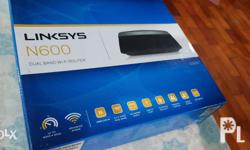 Linksys N600 Model E2500 Used only once ISP provided a