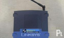 Linksys Router ADSL Gateway with 4 port switch Wireless