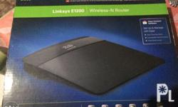 Cisco Linksys E1200 wireless router no issue complete