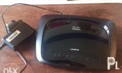 Linksys Wireless Router E1000 with Power Adaptor