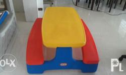 -Original Little Tikes Picnic Table -Can be folded for