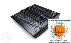 Brand New Alto Live 1202 Audio Mixer Contact Number On