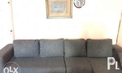 Living Room Sofa Set In Good Condition