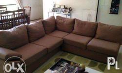Slightly used couch/sofa that can accommodate 6-8