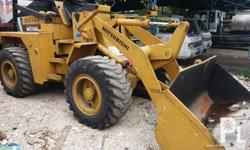 Mitsubishi Loader Japan Surplus Model WS500 Mitsubishi
