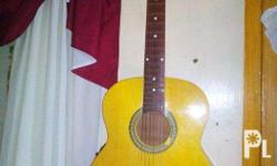 Rush Sale!!!! local Acoustic Guitar with built in pick