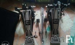 Almost brand new Mes Double Pedal Long Board With free