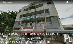 DORM for rent 2nd, 3rd & 4th Floor Building For Long