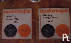 for sale beatles audiotape 1970 very rare and hard to