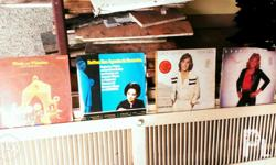 Long Playing Records from Various Artists and Albums.