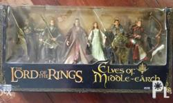 Lord of the Rings: Elves of Middle Earth (2005) Mint in