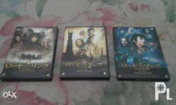 For interested or for Dvd collectors only Lord of the