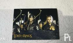 Lord of the rings card hobby japan lotr What u see is