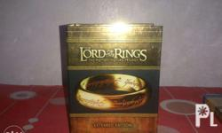 - Mint Original LOTR Bluray Disc Extended Edition -