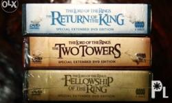 Lord of the Rings Extended Limited Special Edition DVD