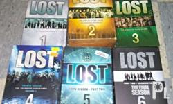 Lost DVDs and Lost Encyclopedia Complete set Seasons 4