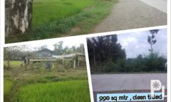 RUSH SALE!! 990 SQ MTR CLEAN TITLED LOT ALONG NATIONAL