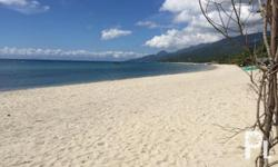Distance to Beach 50-400 meter LOT AREA: 250-350sqm