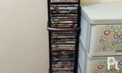 Selling 70 pieces DVD copies of various movies for only