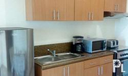 43 sq.m. of fully furnished unit with a breath taking