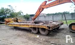 Kondisyon: Gamit na FOR SALE!!! -35 tons low bed