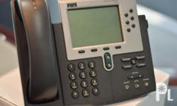 We have 240 units of almost new Cisco IP Phones. The