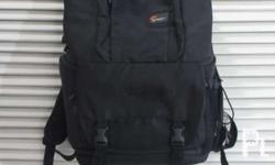 FOR SALE!!! Lowepro - Camera Backpack (2nd hand) Price:
