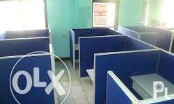 Office Partition Reception Counter Made to order 7