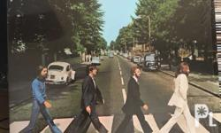 Lp records for sale; Beatles Abbey road, 2K Beatles Sgt