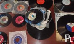LP and 45rpm 200up four tops then 200 lp pilita corales