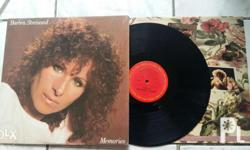 BARBRA Streisand MEMORIES LP Very good / mint