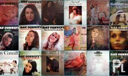 Oldies LP vinyl records by Ray Conniff, Ronnie Aldrich.