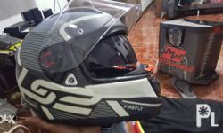 LS2 top of the line helmet Size large Use 3 times 1