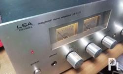 LSA ( denon ) SA 3350 In listening, it is 2X30 Watts
