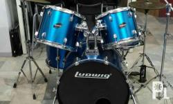 Ludwig Accent CS Combo Kit With Zildjian Planet Z