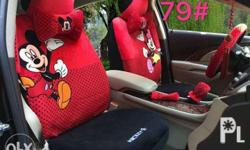 LV Chanel Gucci Mickey Hello Kitty 18in1 Car Seat Cover