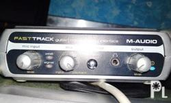 FOR SALE M-AUDIO FAST TRACK FOR 3,100 UNG UNIT ANDTO SA